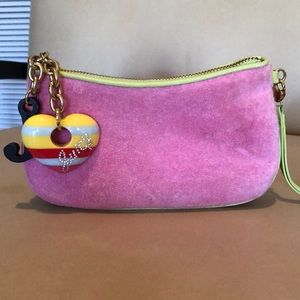 Juicy Couture terry cloth wristlet